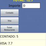 Programa gestión control cobro comandero android hostelería