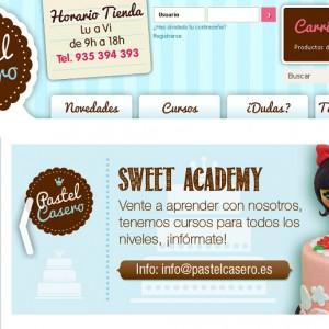 Programa gestión enlace Prestashop tienda pastelerías