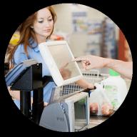 Registros sincronizados ERP Tiendas de alimentación